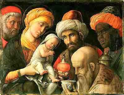 Mantegna (1431-1506)-rois-mages-adoration ( entre 1495 et 1050)- fondation Paul Getty.jpg