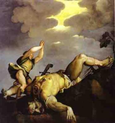 titian david et goliath - Eglise santa maria del salute venise 1540 bloçg.jpg