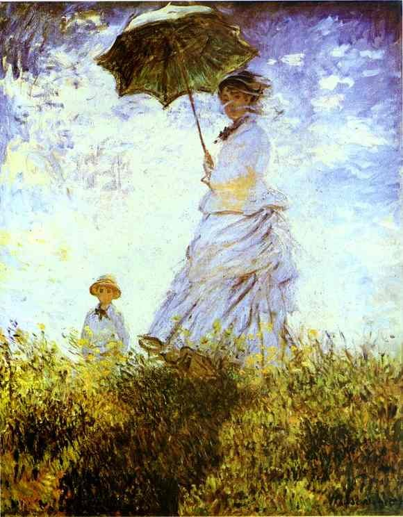 monet dame au parasol 1875 la promenade national gallery  washington.JPG