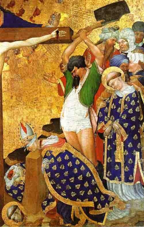 Henri Bellechose - 15ème siècle - Le Martyre de saint Denis - peinture sur bois.jpg