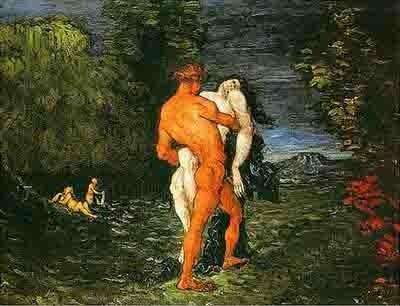 Cézanne - L'enlèvement -1867.jpg