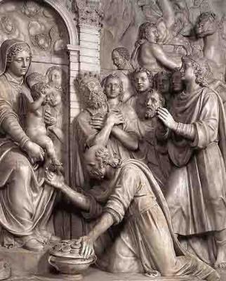 Oliveri Piero Paolo - l'adoration des mages (1599) - église Ste Prudence - rome.jpg