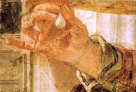 2-Tiepolo -le festin de Cléopâtre - détail - la perle.jpg