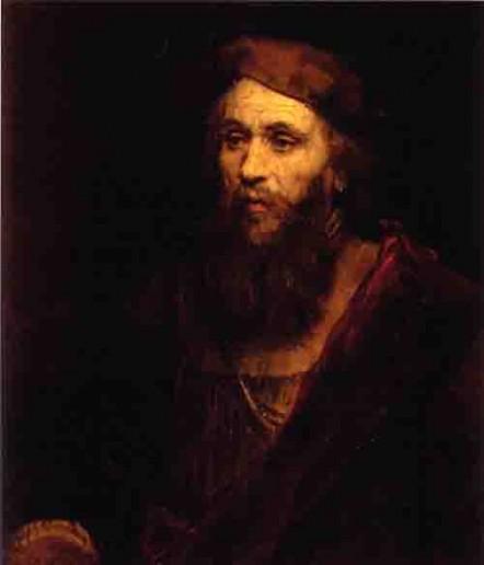 Rembrandt 1606-1669) - Homme barbu coiffé d' un béret -1661 - musée de l'Ermitage  St Pétersbourg.jpg