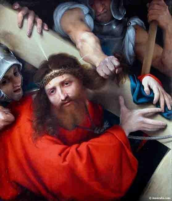 Lotto  Lorenzo (1480-1556) - le portement de croix - le Louvre.jpg