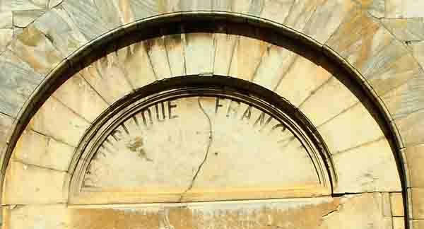 Elne - portail cathédrale Elne-portail de Ste Julie  Ste Eulalie - 11ème  -  0865 copie.jpg