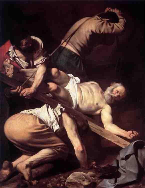 caravage le - la crucifixion.jpg