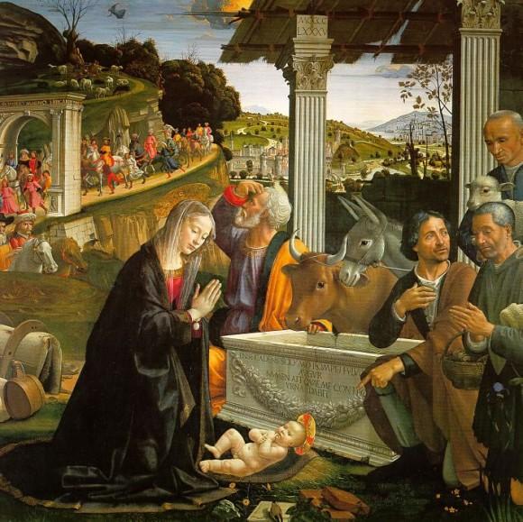 08 - Domenico Ghirlandaio (1449-1494) - (vers 1480 ) chapelle Sassetti -église Santa Trinita à Florence.jpg